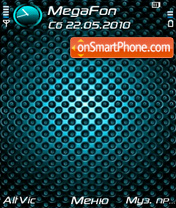 Carbon blue by Altvic theme screenshot