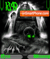 Gren Skull theme screenshot