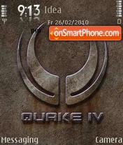 Quake-4 theme screenshot