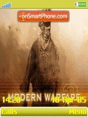 Call Of Duty Modern Warfare 2 es el tema de pantalla