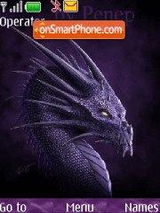 Purrple Dragon theme screenshot