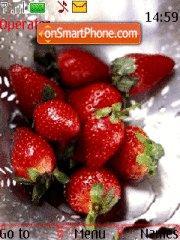 Скриншот темы Strawberry 06