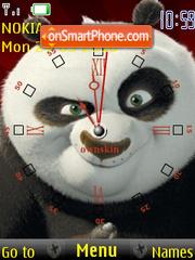 Скриншот темы Kung Fu Clock