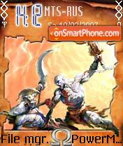 God Of War theme screenshot