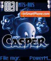 Casper theme screenshot