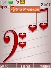 Love notes theme screenshot