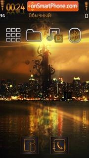 Golden city 01 theme screenshot