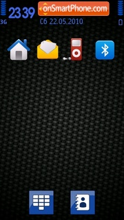 C@rbon tema screenshot