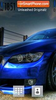 Blue Bimmer es el tema de pantalla