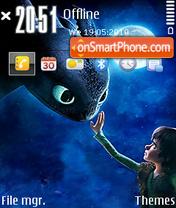 How to train your dragon 01 Theme-Screenshot
