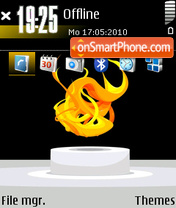 Flame 02 theme screenshot