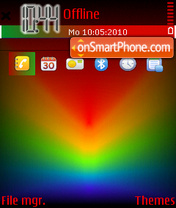 Prismatic theme screenshot