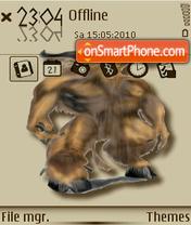 Minotaur theme screenshot