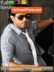 Harman Baweja theme screenshot