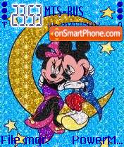 Mickey And Minnie Animated es el tema de pantalla