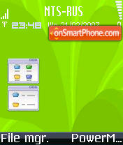 Symbian Os Me theme screenshot