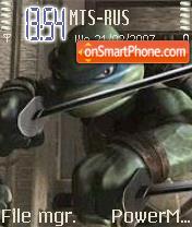 The New Turtles es el tema de pantalla