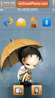 Sad In Rain es el tema de pantalla