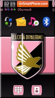 Palermo FC 01 tema screenshot