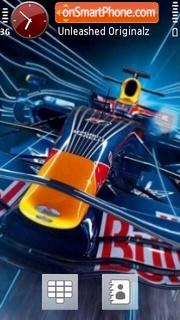 Red Bull 03 es el tema de pantalla