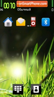 Janos Grass tema screenshot