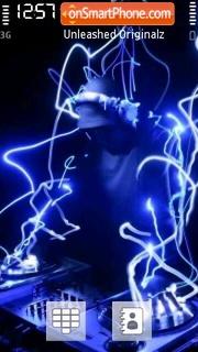 Neon Dj es el tema de pantalla