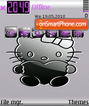 Kitty CUT theme screenshot