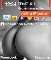 Скриншот темы Fine Butts
