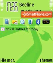 Скриншот темы Ipod Shuffle