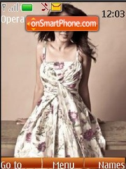 Genelia d souza theme screenshot