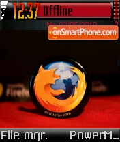 Mozilla Vs Ie theme screenshot