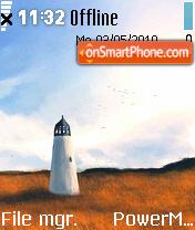 Landscape V2 theme screenshot