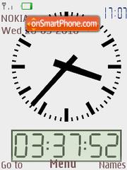 Clock 03 theme screenshot