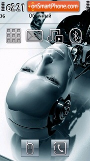 Robotme theme screenshot
