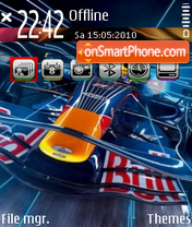 Red bull 04 theme screenshot