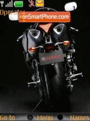 Yamaha Yzf R1 theme screenshot