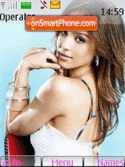 Jessica Alba 17 theme screenshot