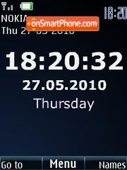 Full Time Theme-Screenshot