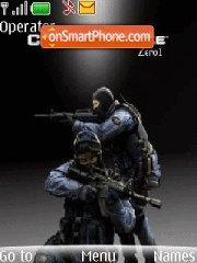 Counter Strike 15 theme screenshot