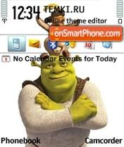 Скриншот темы Shrek Forever After 01