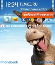 The Donkey theme screenshot