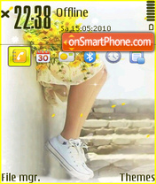 Shouhou theme screenshot
