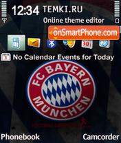 Скриншот темы FC Bayern Munchen 01