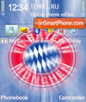 FC Bayern Munchen 2 theme screenshot