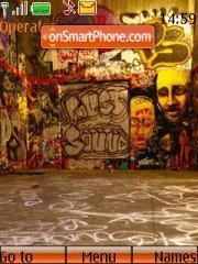 Скриншот темы Graffity