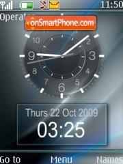 Скриншот темы Dual clock