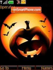 Скриншот темы Halloween 2012