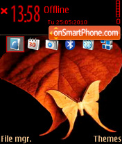 Butterfly 15 theme screenshot