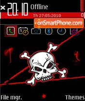 Skull fp1 theme screenshot
