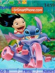 Capture d'écran Lilo N Stitch thème
